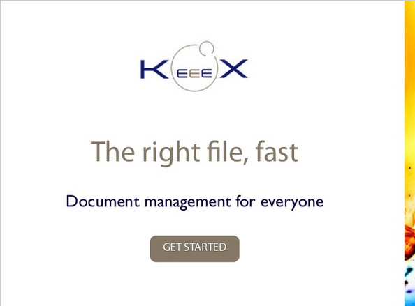 The KeeeX Document Management Pitch