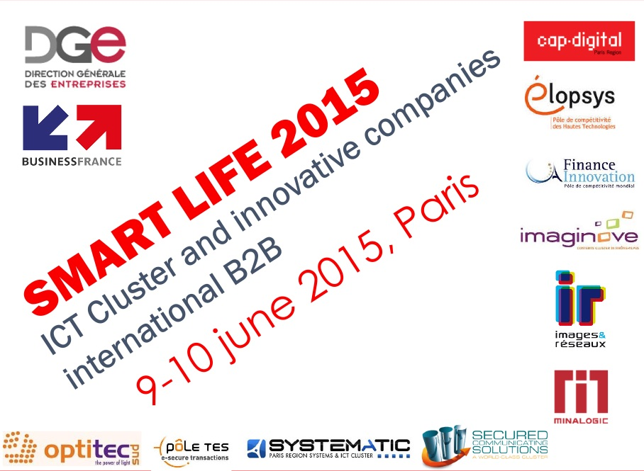 KeeeX was at SmartLife 2015, Paris