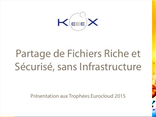 Slides presented at Trophées du Cloud 2015 (content in French)