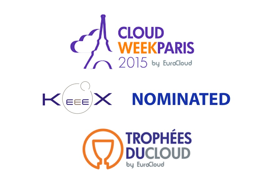 KeeeX Nominated for Trophées du Cloud 2015
