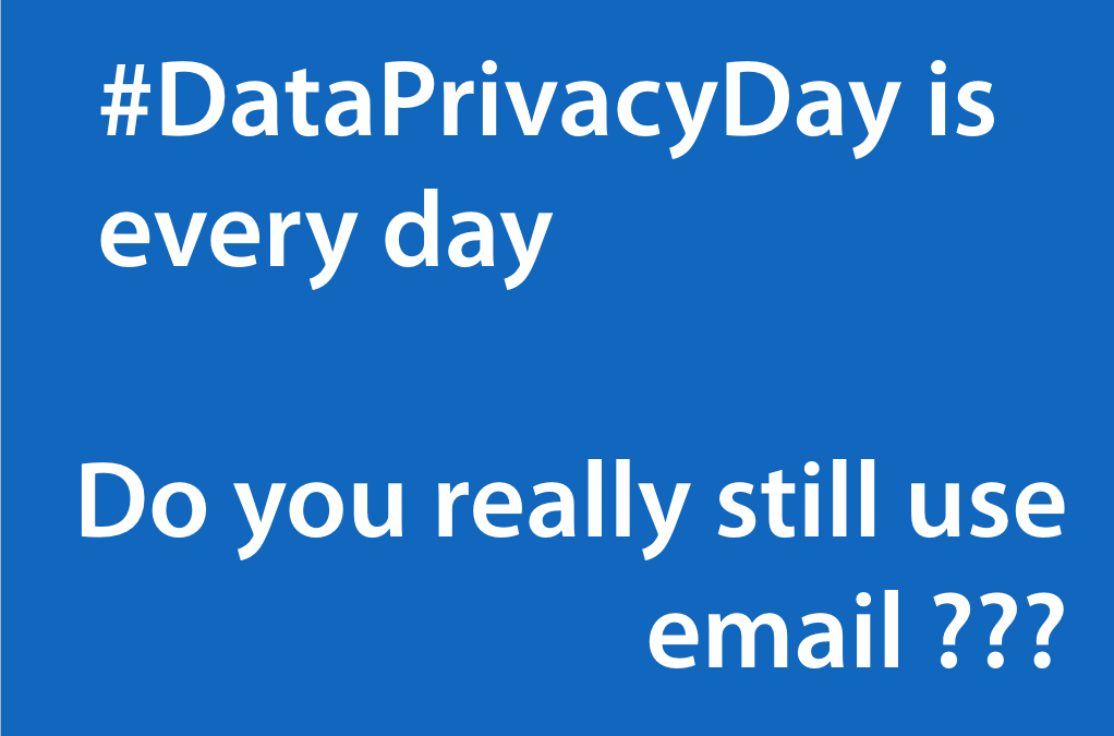 #DataPrivacyDay is every day – Stop leaking your Intellectual Property