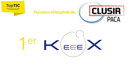 KeeeX has received the Security Innovation Award from CLUSIR PACA at Top TIC