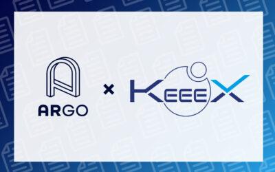 Annonce du partenariat KeeeX x ARGO