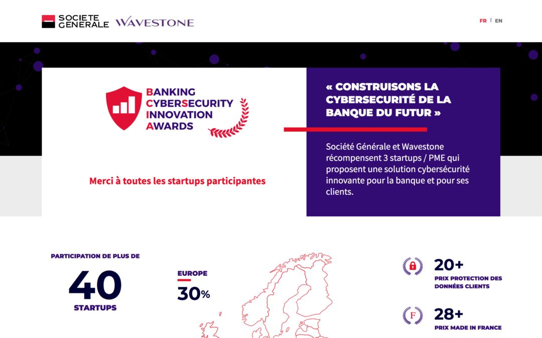 KeeeX obtient le prix de la Protection des Données Client au Banking CyberSecurity Innovation Awards 19