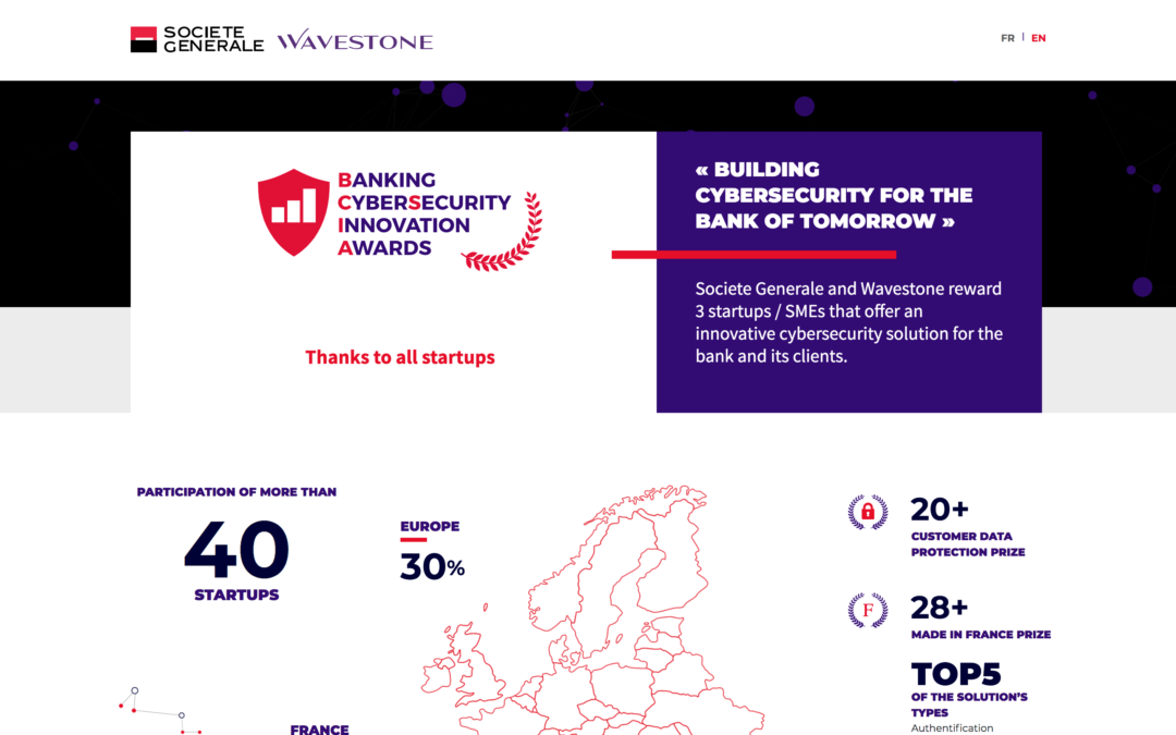KeeeX awarded Customer Data Protection Prize at Banking CyberSecurity Innovation Awards