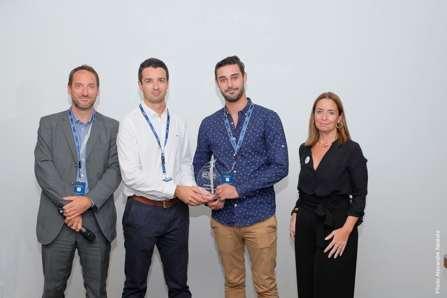 KeeeX wins Innovation Hall Gold Trophy – Big Bang Blockchain – Univ'AirPlus 2018