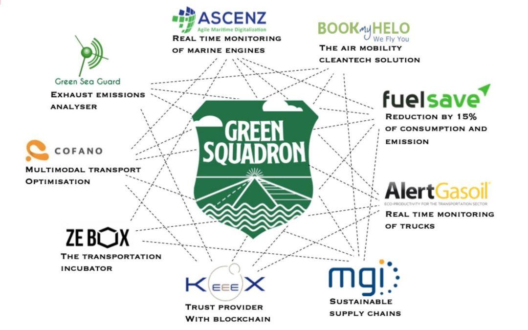 Lancement du Green Squadron
