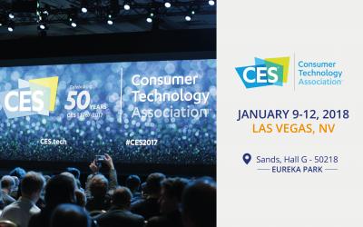 KeeeX sélectionnée pour le CES 2018 Las Vegas