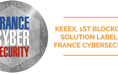KeeeX, 1st Blockchain solution labelled France Cybersecurity