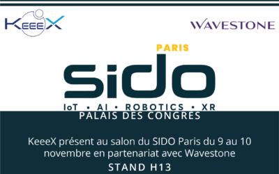 RDV au SIDO Paris les 9 et 10 Novembre 2021