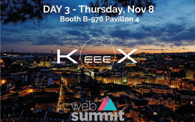 KeeeX among the 20 startups selected by Business France for the 2018 Web Summit