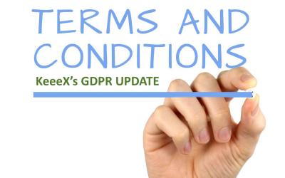 Nouvelles Conditions Générales pour une conformité RGPD maximale